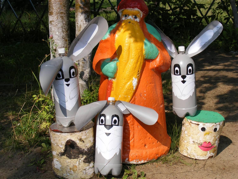 Заяц своими руками с сад 816